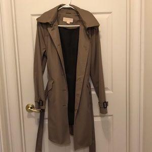Michael Kors Women's Hooded Trench Coat